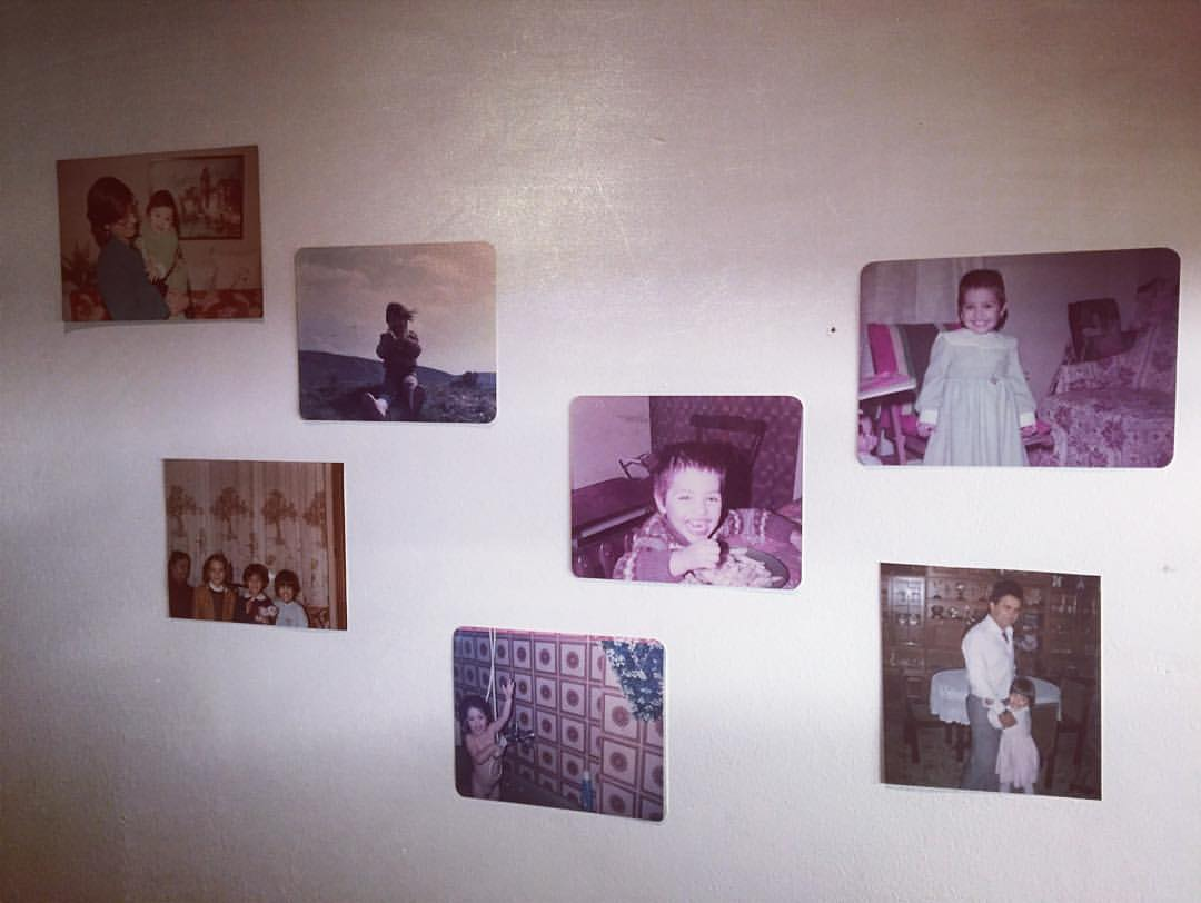 memories on my wall
